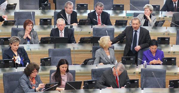 Kontrowersyjna Ustawa została przyjęta większością głosów Fot. Marian Paluszkiewicz