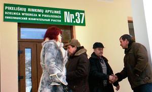 Według założeń część tzw. polskich okręgów planuje się przyłączyć do okręgów, gdzie dominuje elektorat głosujący na partie litewskie   Fot. Marian Paluszkiewicz