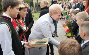 President Dalia Grybauskaitė took part in the Polish-Lithuanian celebration of the beginning of the new school year