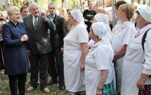 Święto zaszczyciła swą obecnością prezydent Dalia Grybauskaitė Fot. Marian Paluszkiewicz