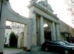 Brama prowadząca do kościoła Wizytek jest dziełem NarbuttaFot. Justyna Giedrojć