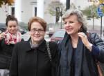 W uroczystym zamknięciu XIV Tygodnia Filmu Polskiego w Wilnie udział wzięły Danuta Wałęsa i Krystyna Janda  Fot. Marian Paluszkiewicz
