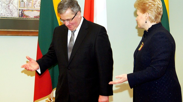 Według polskiego historyka, przepraszać Litwinów wypadałoby prezydentowi Bronisławowi Komorowskiemu, tyle że litewska prezydent Dalia Grybauskaitė ostatnio stwierdziła, że z Polską w ogóle nie trzeba rozmawiać Fot. Marian Paluszkiewicz