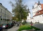 Na skwerku pomiędzy gmachem ministerstwa i kościołem św. Michała znajdował się zbór kalwiński Fot. Justyna Giedrojć