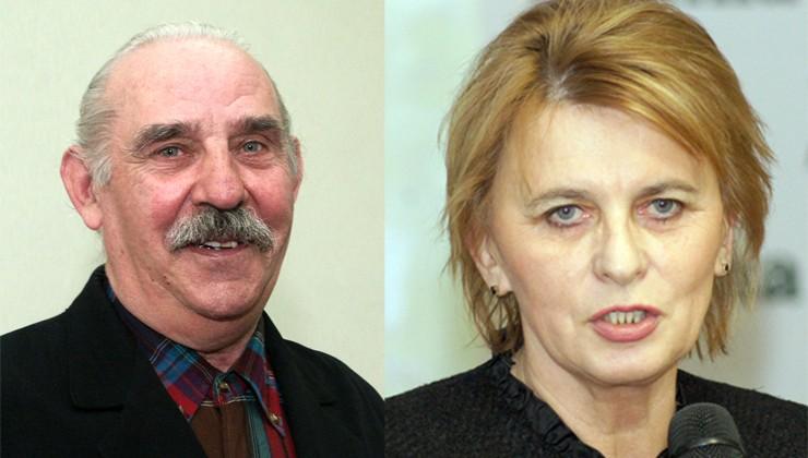 Leokadia Poczykowska i Kazimierz Wołodko Fot. Marian Paluszkiewicz