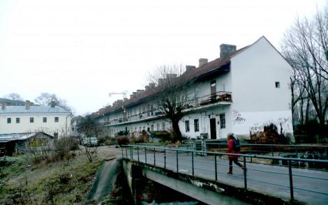 Journey around Vilnius streets: by Młynowa Wilenka river flows