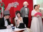 Uczniowie zaprezentowali widowisko teatralne o słynnej jaszuniance Ludwice Śniadeckiej Fot. Marian Paluszkiewicz
