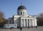 Najlepiej w Kiszyniowie wygląda odnowiona klasycystyczna katedra Narodzenia Pańskiego, która posiada rangę głównej prawosławnej świątyni Mołdawii Fot. Waldemar Szełkowski