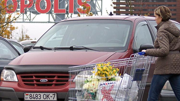 W ciągu ostatniego miesiąca kupujących osób z Białorusi zmniejszyło się Fot. Marian Paluszkiewicz