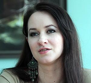 Inga Ruginienė, prezes związkowców Fot. Marian Paluszkiewicz