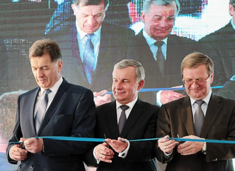 W Wojdatach w rejonie wileńskim otworzono terminal intermodalny