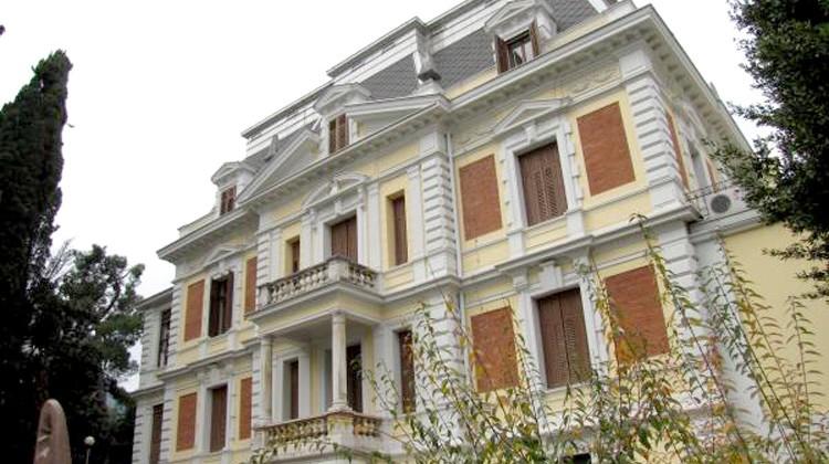 """""""Villa Antonio"""", pełniąca rolę Domu Włoskiego w Opatiji, w której obywała się konferencja MIDAS  Fot. """"La Voce del Popolo"""""""