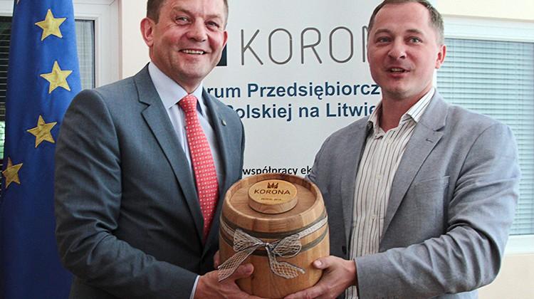 Zdzisław Palewicz i Bernard Niewiadomski Fot. Marian Paluszkiewicz