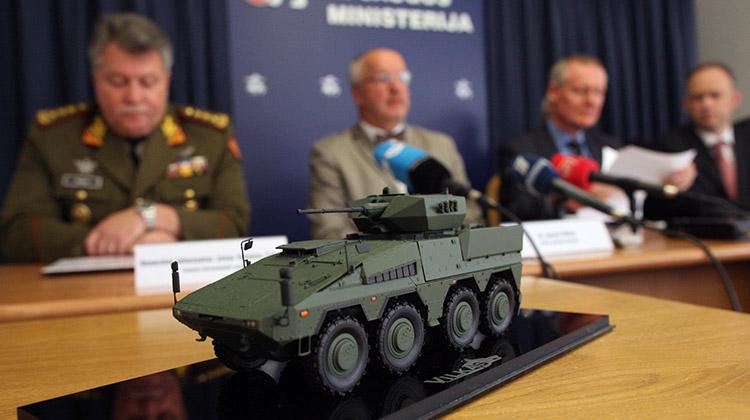 Nabycie niemieckich maszyn bojowych to największy pod względem wartości kontrakt w historii sił zbrojnych Litwy Fot. ELTA