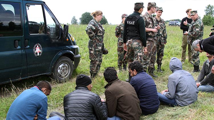 W tym roku funkcjonariusze Litewskiej Straży Granicznej zatrzymali 148 nielegalnych imigrantów Fot. Marian Paluszkiewicz