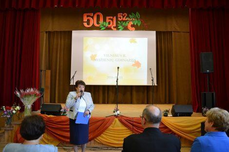 Gimnazjum w Awiżeniach - 50 lat