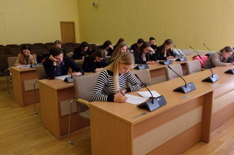 Była to już dziesiąta edycja sprawdzianu ze znajomości litewskiej Ustawy Zasadniczej Fot.vrsa.lt