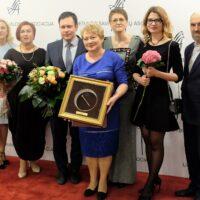 """Nagroda """"Złot wić"""" dla Samorządu Rejonu Wileńskiego"""