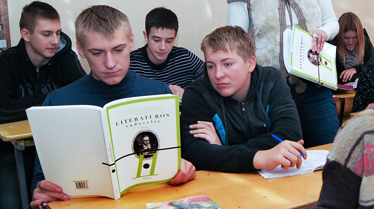 Ujednolicono programy nauczania litewskiego, a podręczników — brak Fot.  Robert Mickiewicz