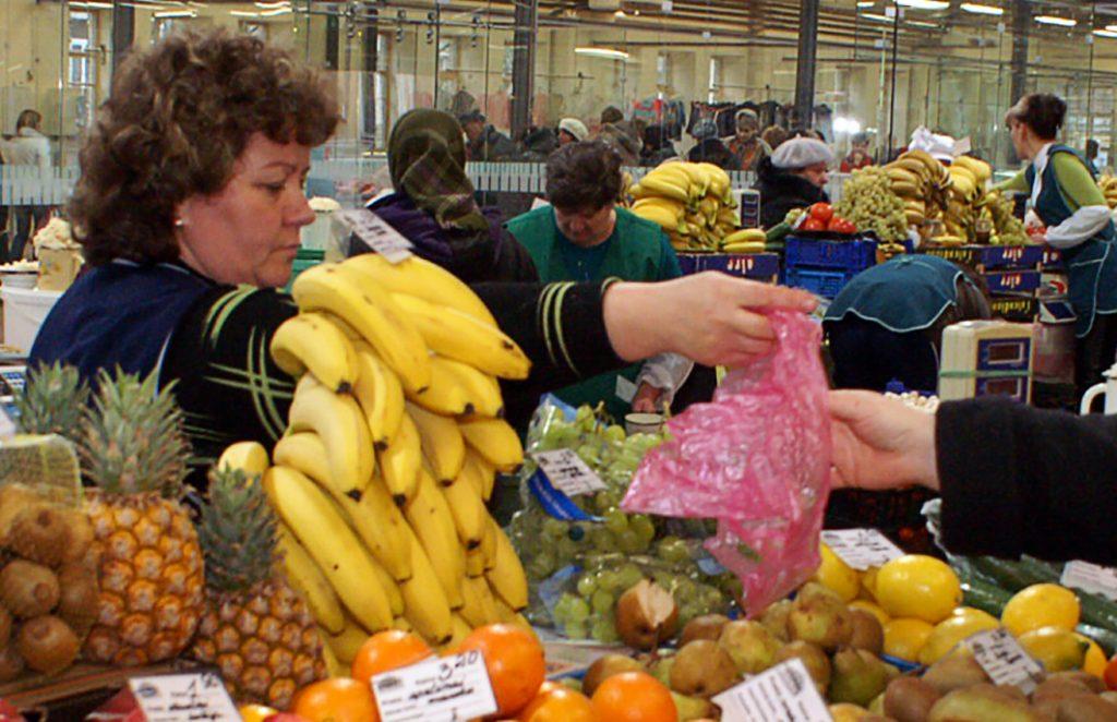Banany, które trafiają na nasze stoły, najczęściej pochodzą z Ekwadoru, Kolumbii, Kostaryki Fot. Marian Paluszkiewicz