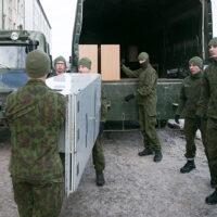 Desant niemieckiego dowództwa wielonarodowego batalionu NATO