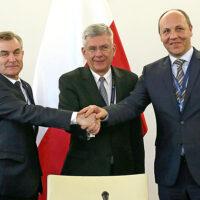 Szefowie parlamentów Polski i Litwy rozmawiali o Polakach na Litwie