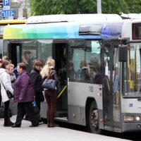 Kierowcy transportu publicznego zapowiadają strajki w Wilnie