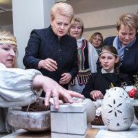 """Prezydent Grybauskaitė w Mejszagole: """"Jestem dumna z tradycji Wileńszczyzny"""""""