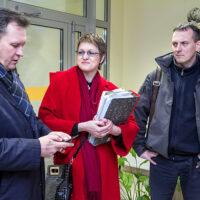 """Odwołano spotkanie Pranckietisa ze społecznością szkolną """"Lelewela"""""""
