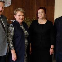 Samorząd odwiedzili wieloletni partnerzy z Suwałk