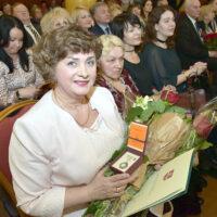 Pielęgniarka Centralnej Przychodni Rejonu Wileńskiego odznaczona przez ministerstwo
