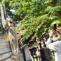 Na Bernardyńskim anioł bez głowy: sprawka wandali czy przyrody?