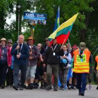 Suwalska piesza pielgrzymka coraz bliżej Wileńszczyzny
