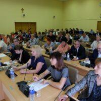 Z posiedzenia Rady Samorządu Rejonu Wileńskiego