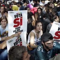 """Katalonia chce """"rozwodu' z Hiszpanią"""