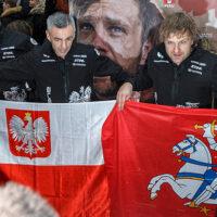 Start polsko-litewskiej załogi na Rajdzie Dakar 2018