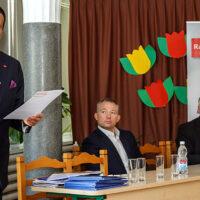 Konferencja Rady Gospodarczej Strefy Wolnego Słowa z polskimi przedsiębiorcami w Wilnie