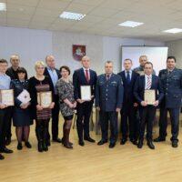Podczas przedstawienia sprawozdania Komisariatu Policji Rejonu Wileńskiego za 2017 rok – podziękowanie Samorządowi za współpracę