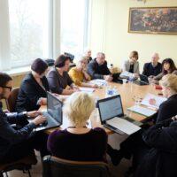 Przedstawiono sprawozdania z działalności kierowników zakładów opieki społecznej rejonu wileńskiego za 2017 rok