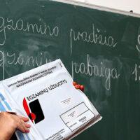 W sobotę maturzyści zdawali egzamin z języka litewskiego