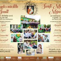 Zapraszamy wszystkich na tradycyjne święto miasteczka Mejszagoła!
