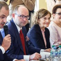 Z przedstawicielami polskiej oświaty na Litwie spotkali się polscy ministrowie
