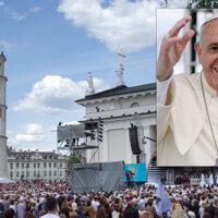 Ruszyła rejestracja na spotkanie z papieżem Franciszkiem na Litwie