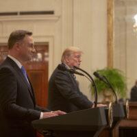 Wizyta Andrzeja Dudy w Waszyngtonie:  podpisanie polsko-amerykańskiej deklaracji