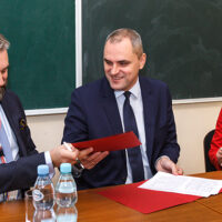 Filia UwB w Wilnie i Orlen Lietuva podpisały umowy o współpracy