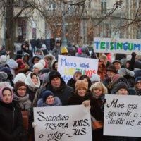 Strajk nauczycieli: minister odwołana, pedagodzy nadal protestują