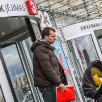 Niepokój na rynku finansowym Litwy