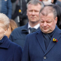 Prezydent Dalia Grybauskaitė kontra premier Saulius Skvernelis