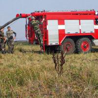 Najwyższy stopień zagrożenia pożarowego na dużym obszarze Litwy